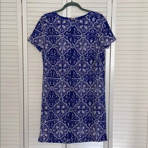 The Limited Blue Patterned Dress